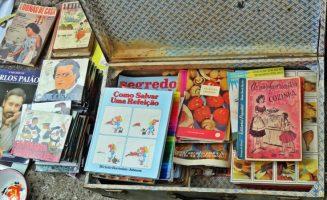 2016-04-02 Lissabon (Portugal) Tag 5-1 Feira da Ladra - Flohmarkt (53) Kochen und Musik