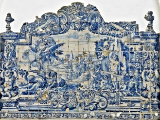 2016-04-02 Lissabon (Portugal) Tag 5-2 Alfama (22A) Largo das Alcaçarias - Fonte das Ratas Azulejos