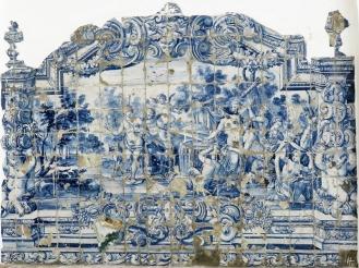 2016-04-02 Lissabon (Portugal) Tag 5-2 Alfama (22B) Largo das Alcaçarias - Fonte das Ratas Azulejos