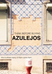 'Project SOS Azulejo' POSTER IN ENGLISH FOR DISSEMINATION. IT HAS NO COPYRIGHT