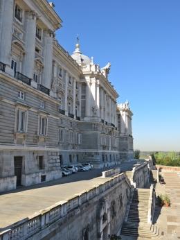 2017-04-11 MADRID-Urlaub Palacio Real (19) Calle de Bailén