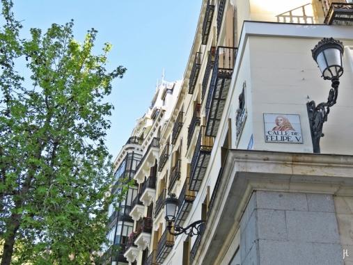2017-04-11 MADRID-Urlaub Plaza de Oriente (2) Calle de Felipe V
