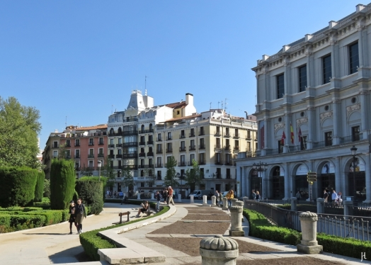 2017-04-11 MADRID-Urlaub Plaza de Oriente (3) Teatro Real