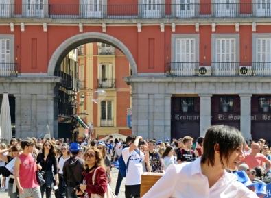 2017-04-11_11 MADRID-Urlaub (162) Plaza Mayor - Arco de la calle de la Sal