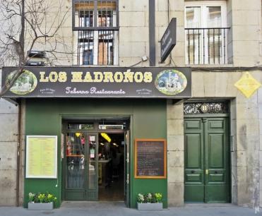 Plaza del Angel, 11 - 'Los Madroños', das Restaurant für's Mittagessen an diesem Tag