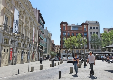 2017-04-11_15 MADRID-Urlaub (251) Plaza de Santa Ana - Calle del Príncipe