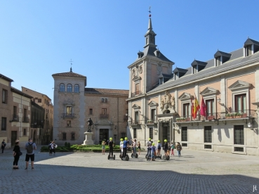 2017-04-11_8 MADRID-Urlaub (102) Calle Mayor bzw. Plaza de la Villa+Casa de La Villa, Ayuntamiento de Madrid