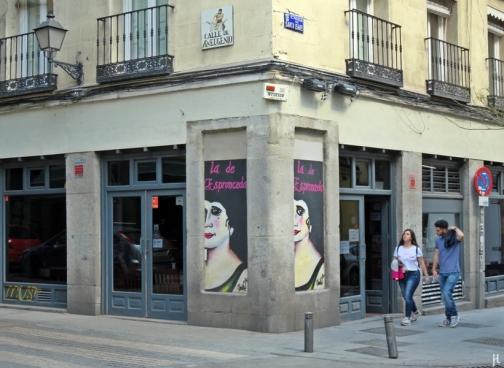 Atocha, Calle de Santa Isabel, Ecke Calle de San Eugenio