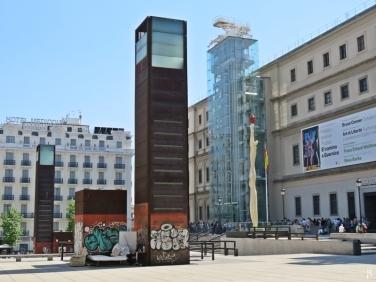 Calle de Santa Isabel - Edifício Sabatini : das Museo Reina Sofía (Nationalmuseum Zentrum der Künste Königin Sofia)