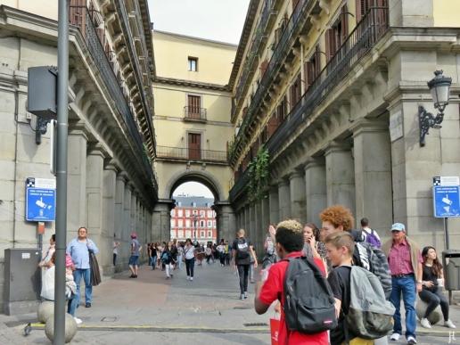 2017-04-13_8 MADRID-Urlaub (126) Calle de Ciudad Rodrigo - Plaza Mayor