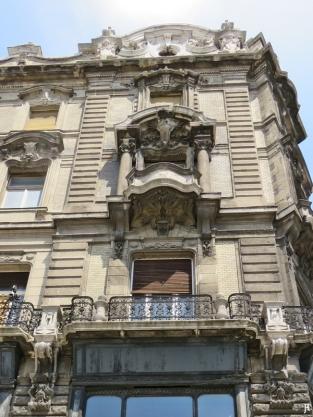 Váci út 36 (einer der Klothilden-Paläste) Fassade