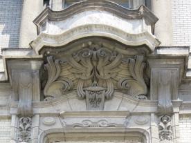 Váci út 36 (einer der Klothilden-Paläste) Fensterdetail