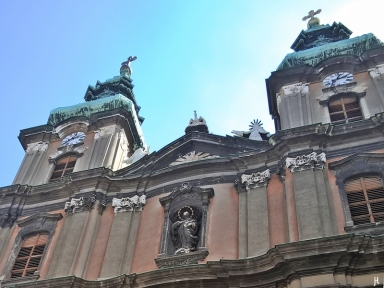Türme der Marienkirche / Universitätskirche