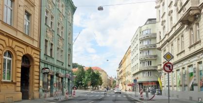 2017-07-14 Prag_1 aus dem Auto (26) Arbesovo náměstí