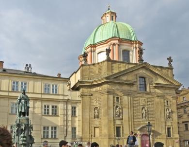 2017-07-14 Prag_5 (CK) (2) Karlsbrückenmuseum&Kreuzherrenkirche