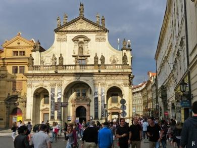 2017-07-14 Prag_5 (CK) (6) Salvatorkirche+Karlova (Karl-Strasse)
