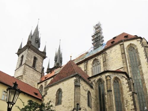 2017-07-14 Prag_8 (CK) um den Altstädter Ring 2 (14) Týn-Kirche