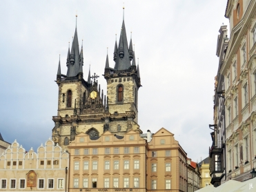 2017-07-14 Prag_8 (CK) um den Altstädter Ring 2 (28) Týn-Kirche