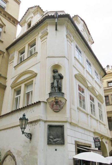 Týnská: Dům Budovců z Budova (Budov-Palais)