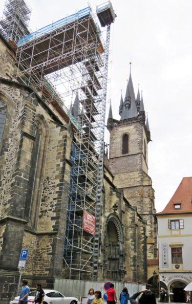2017-07-14 Prag_8 (CK) um den Altstädter Ring 2 (5) Týn-Kirche
