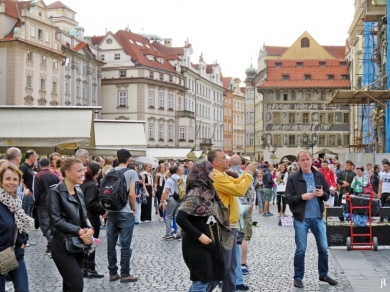 2017-07-14 Prag_9 (CK) um den Altstädter Ring 3 (1) am Alten Rathaus
