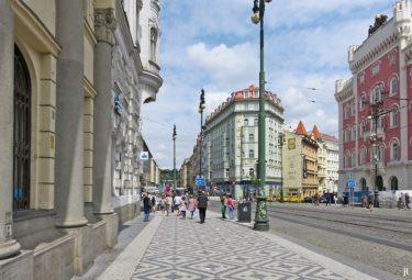am Platz der Republik (Náměstí Republiky)