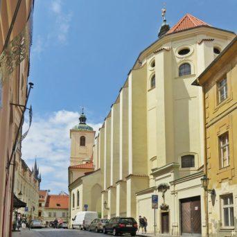 2017-07-15 Prag_15 zurück durch die Altstadt (5) Jakubská +St. Jakobs-Basilika