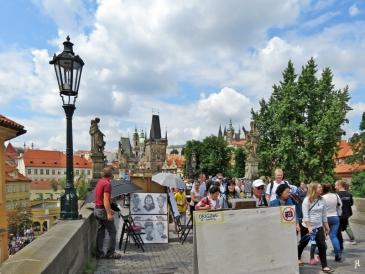 2017-07-15 Prag_16 zurück über die Karlsbrücke (7) Kleinseite