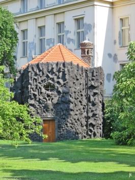 2017-07-15 Prag_17 nachmittags Kleinseite (sonnig) (19) Kapelle im Vojan-Park
