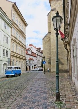 Lázenská ulice - Strassenpflaster