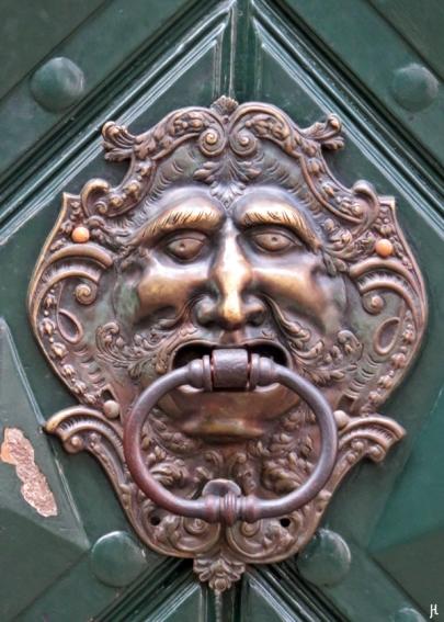 Kleinseite: am Velkoprevorské námestí - Palais Buquoy - Tür