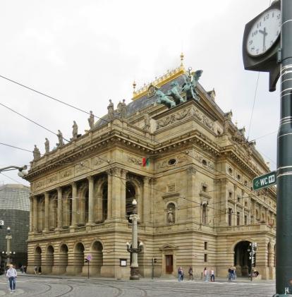 Theatergebäude (1868-1883) Entwurf Josefa Zítka