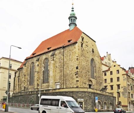 2017-07-15 Prag_7 Neustadt_1 (7) Kirche St. Wenzel von Zderaz (12. Jh.)