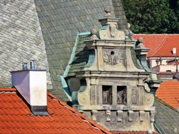 2017-07-16 Abreisemorgen in Prag (2) 8h-Zoom vom Kleinseitener Brückenturm