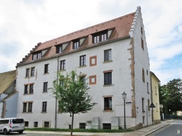 2017-07-16 Grimma (15) Ehem. Hospital des Templerhofes zu Droyßig (14. Jh.)