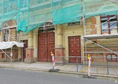 2017-07-16 Grimma (33) Klosterstrasse Gymnasium St. Augustin Bau von 1891