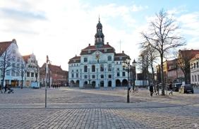 Lüneburg, Marktplatz mit Rathaus