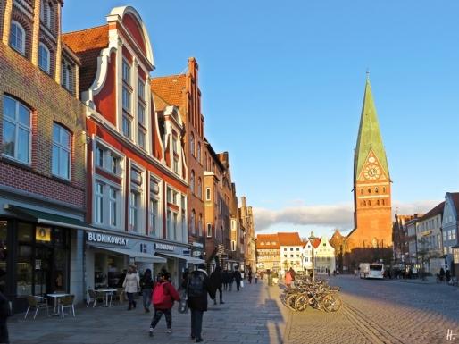 Lüneburg, Am Sande + St. Johanniskirche