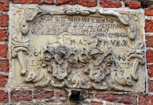 Lüneburg, Auf dem Kauf, Haus von 1646 RENOVATUM 1777