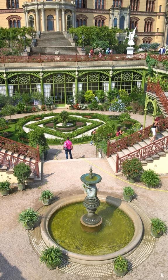 2018-08-17 morgens Schwerin Schloss Burggarten (10) Orangerie