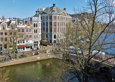 2019-04-09 NL Amsterdam 15-16h Keizersgracht + Brücke Nieuwe Spiegelstraat