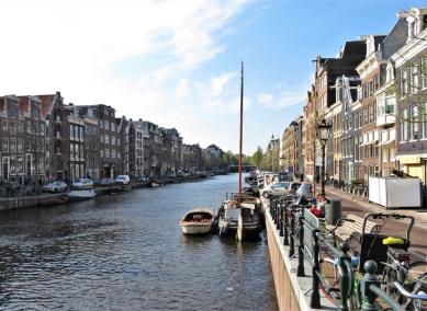 2019-04-09 NL Amsterdam Nachmittags ca. 17h (2) Prinsengracht