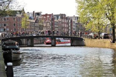 2019-04-09 NL Amsterdam Nachmittags ca. 17h (9) Prinsengracht - Spiegelgracht