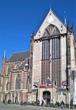 2019-04-10 NL Amsterdam De Dam 10h54 (10) De Nieuwe Kerk