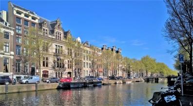 2019-04-12 NL Amsterdam morgens (13) Herengracht mit dem Huis Nienhuys