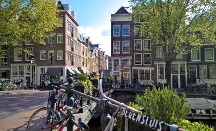 2019-04-13 NL Amsterdam Prinsengracht (2) Berensluis-Brücke