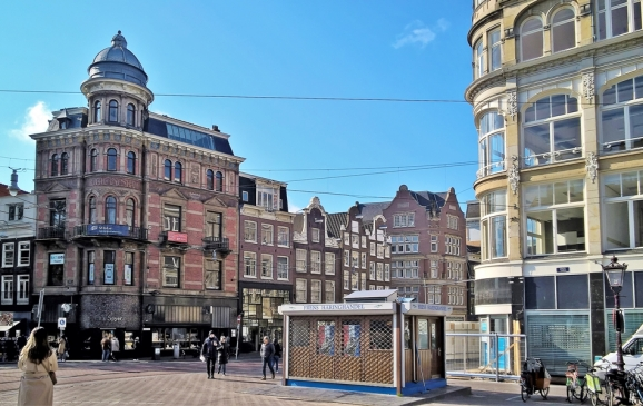 2019-04-13 NL Amsterdam Singel (2) Koningsplein Nr. 1 (links)